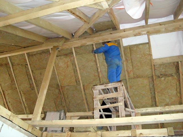 Утепление деревянного дома изнутри своими руками видео пеноплексом